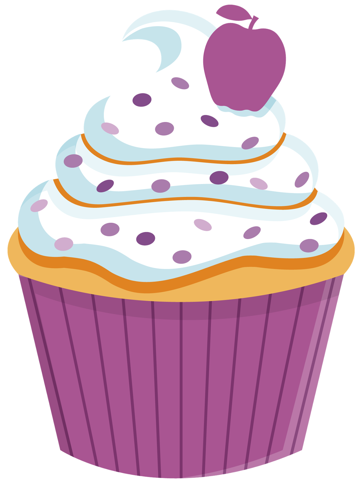 Drawn sweets colorful cupcake Pinterest ✿⁀Cupcakes‿✿⁀ Food for Cupcake