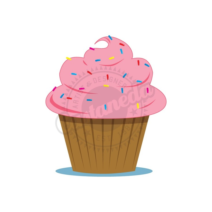 Vanilla Cupcake clipart 1st With images 18 clipart sprinkles