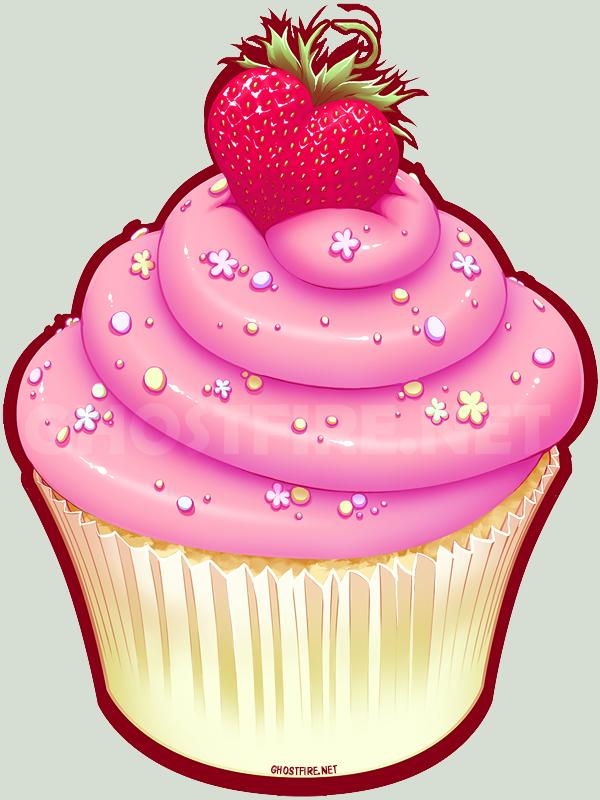 Vanilla Cupcake clipart deviantart  by Cupcake ghostfire Love