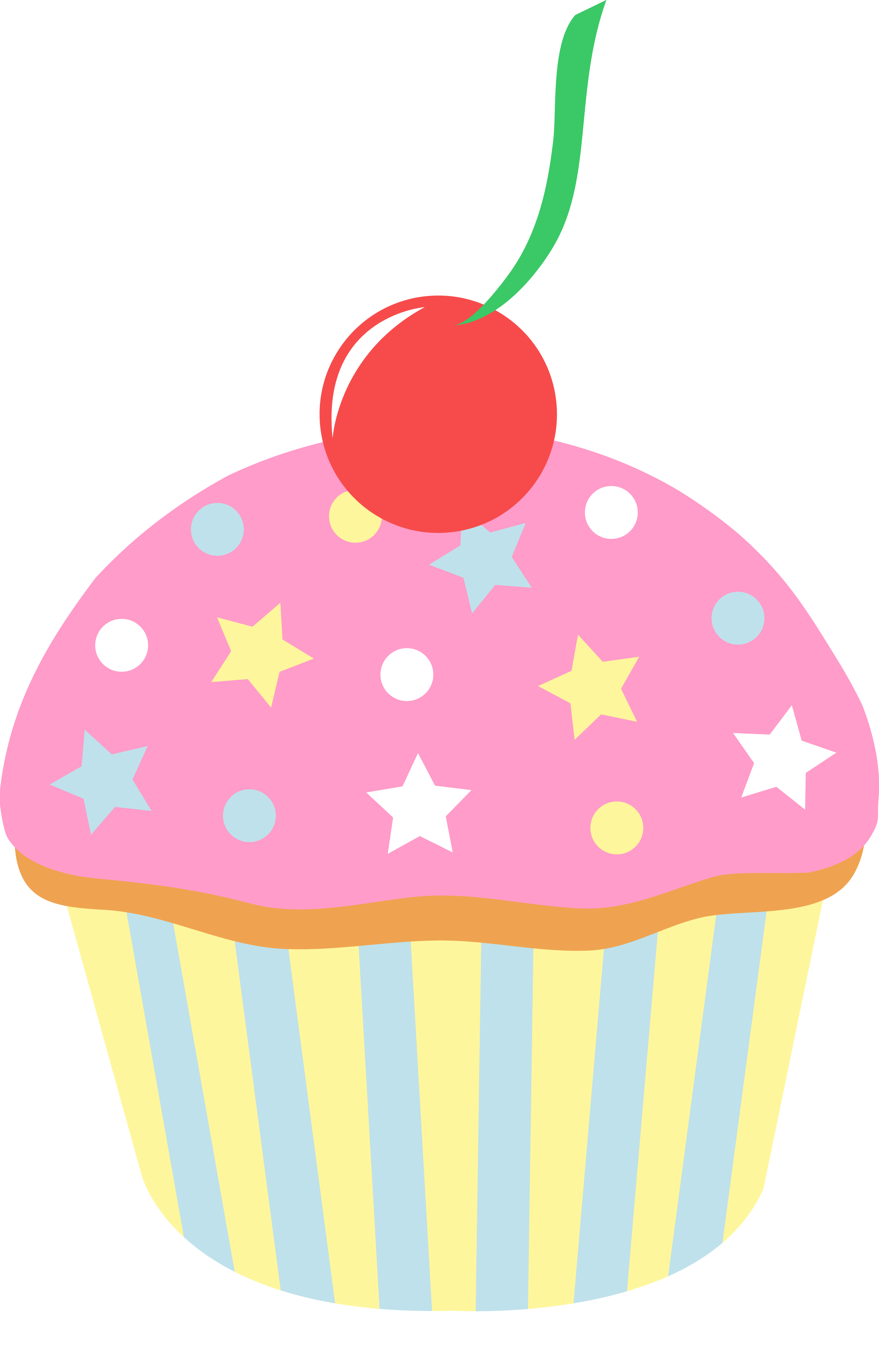 Muffin clipart strawberry cupcake Cherry Clip Free Cupcake Strawberry