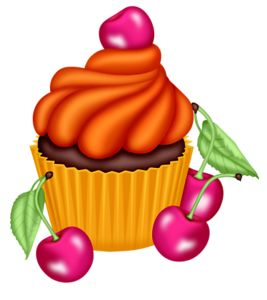 Muffin clipart orange cupcake Honey images ClipartFood 273 Cupcake