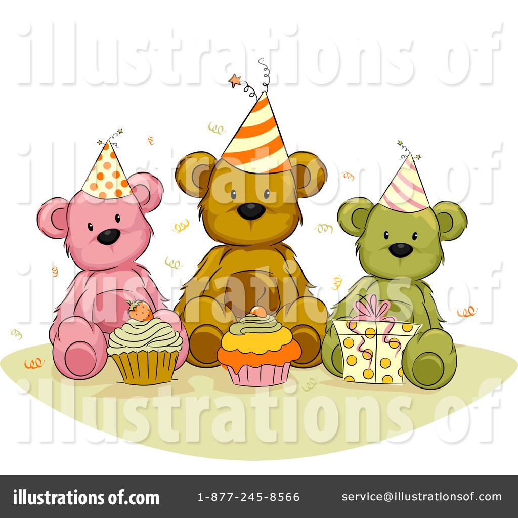 Cupcake clipart teddy bear Illustration BNP Clipart (RF) Clipart