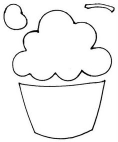 Templates  clipart cupcake Use template cupcake to going