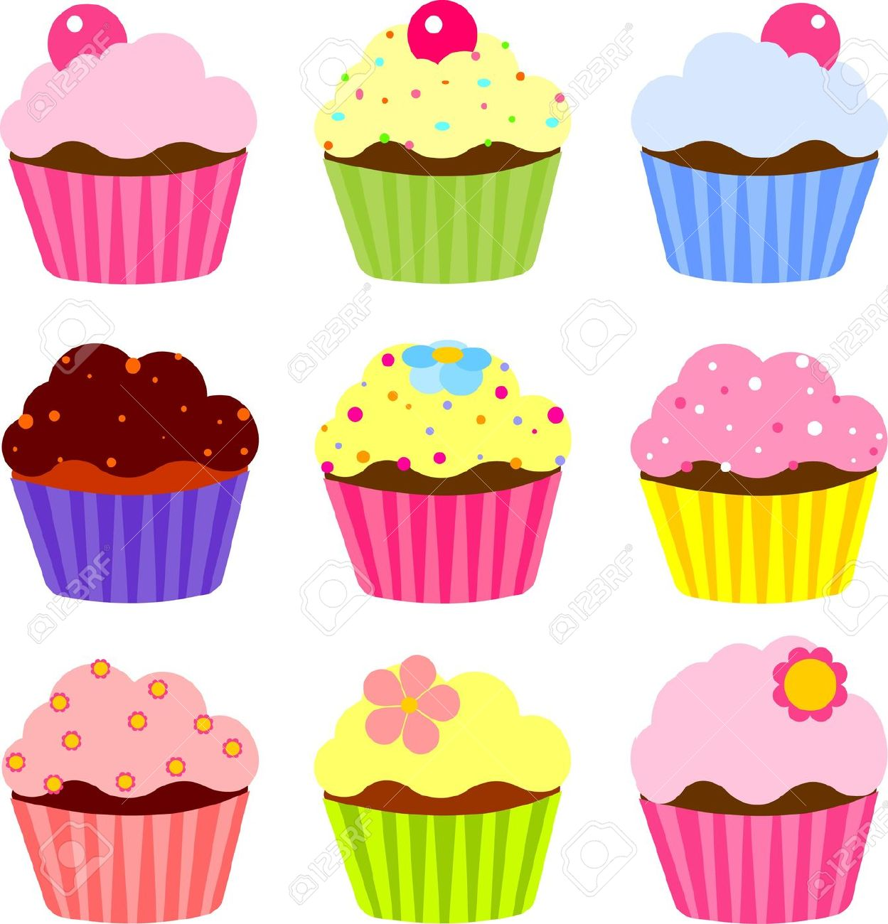 Muffin clipart birthday cupcake Cupcakes Fotolip and Cupcakes Rich