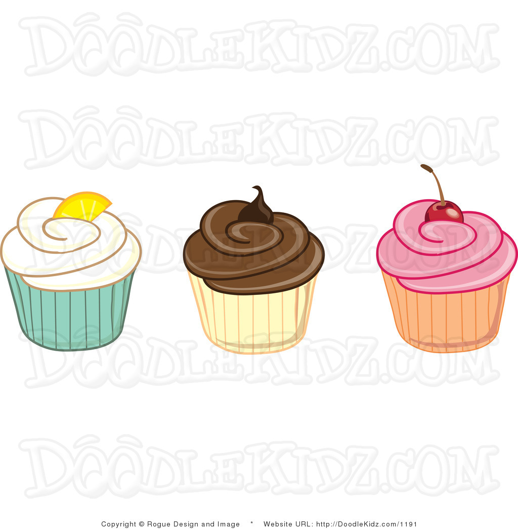 Vanilla Cupcake clipart three Images Clipart flavor%20clipart Flavor Clipart
