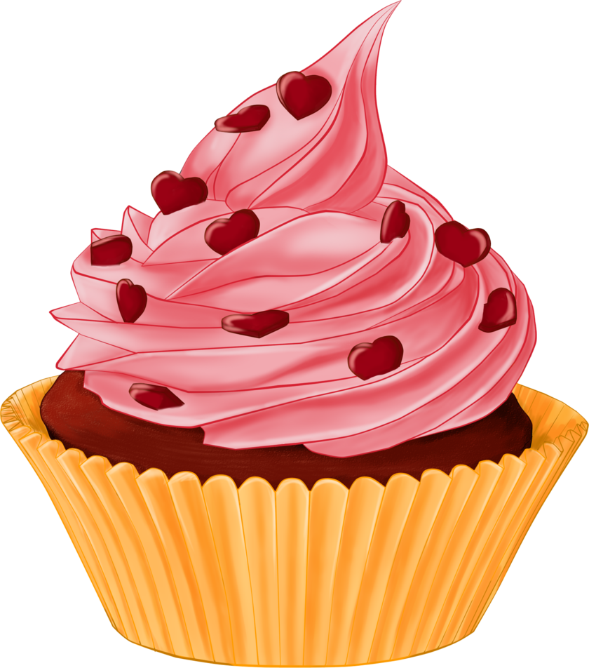 Vanilla Cupcake clipart deviantart Cake cupcakes Pesquisa png Google
