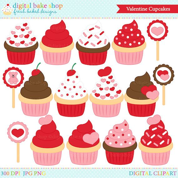 Decoration clipart valentine's day Art Pinterest Digital clipart Valentines