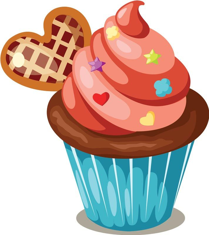 Pastry clipart orange cupcake On 243 Click minus to