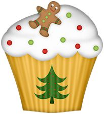 Muffin clipart christmas — png» на Яндекс 50