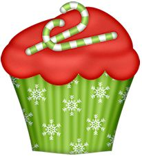 Muffin clipart christmas — png» на Яндекс 49