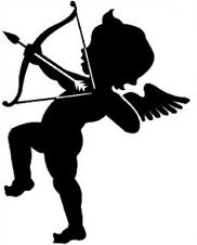 Cupid clipart Cupid Clipart sillouette cupid Free