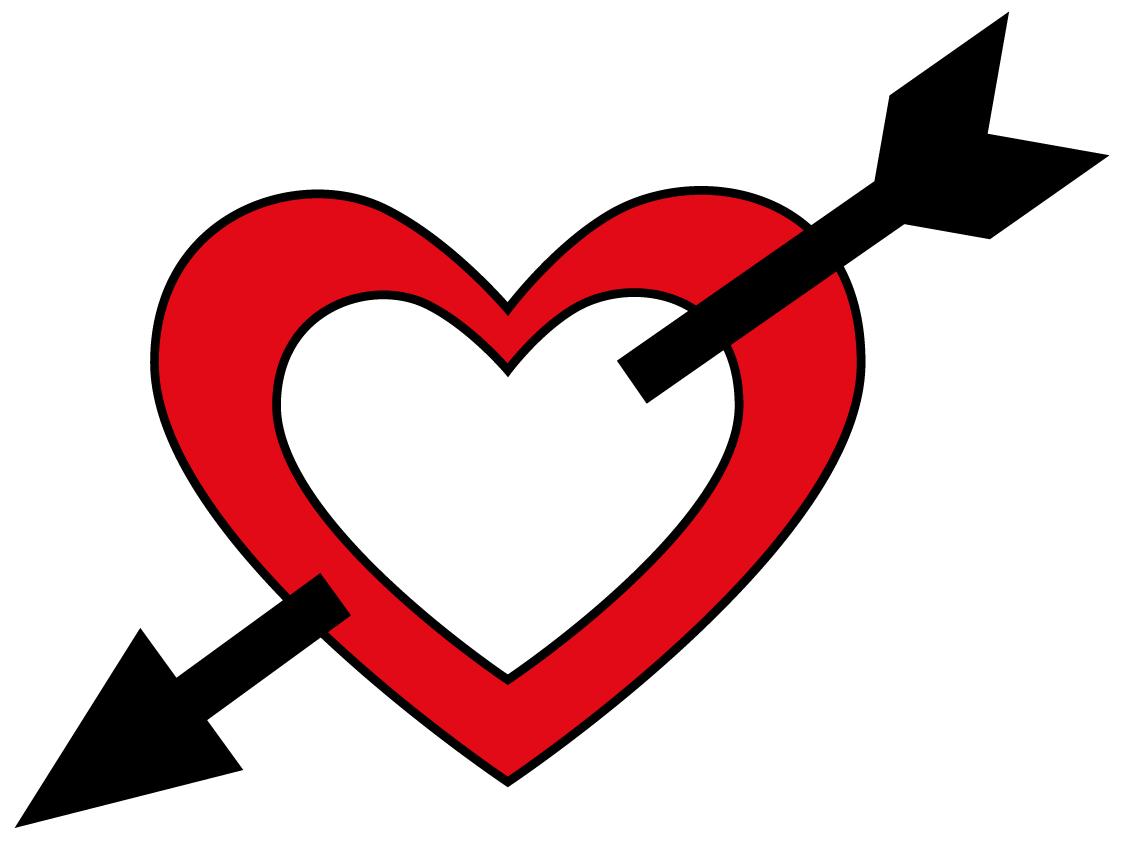 Hearts clipart arrow clip art With Clip Free Clip Arrow
