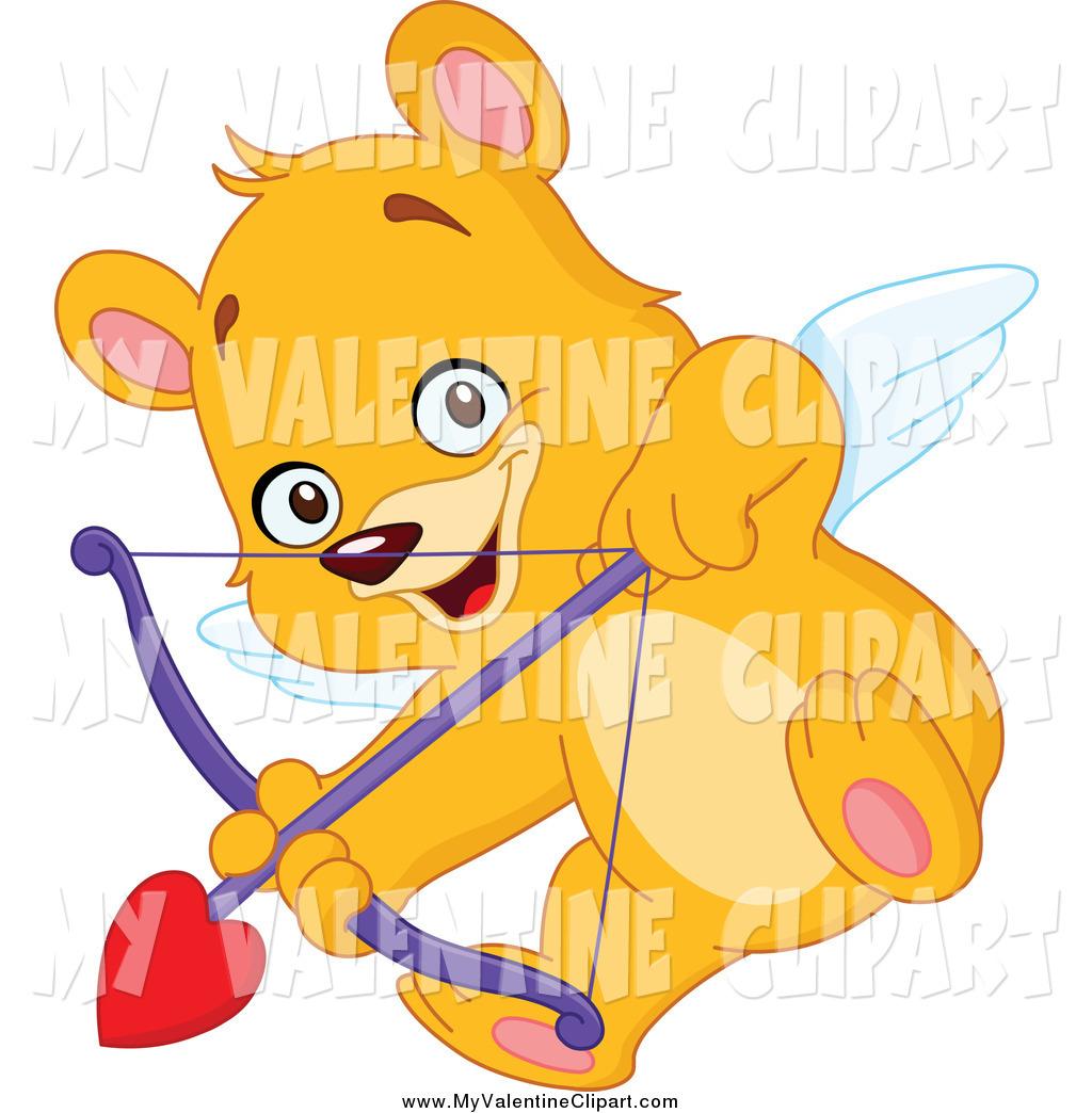 Cupid clipart bear Aiming a Teddy of Cupid