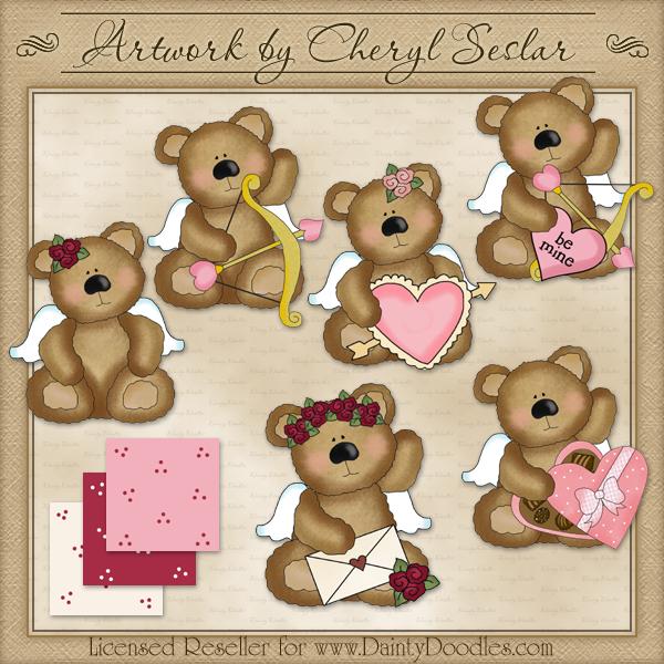 Cupid clipart bear Clip Cheryl Art Art Cheryl