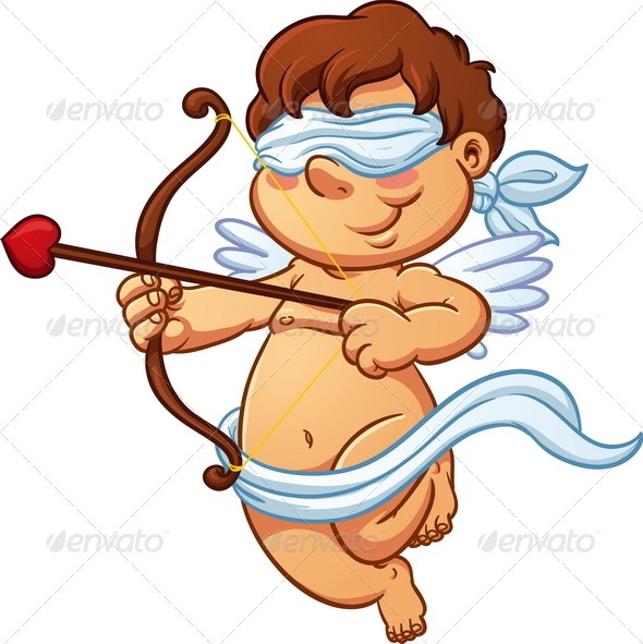 Cupid clipart blind Else it he not but