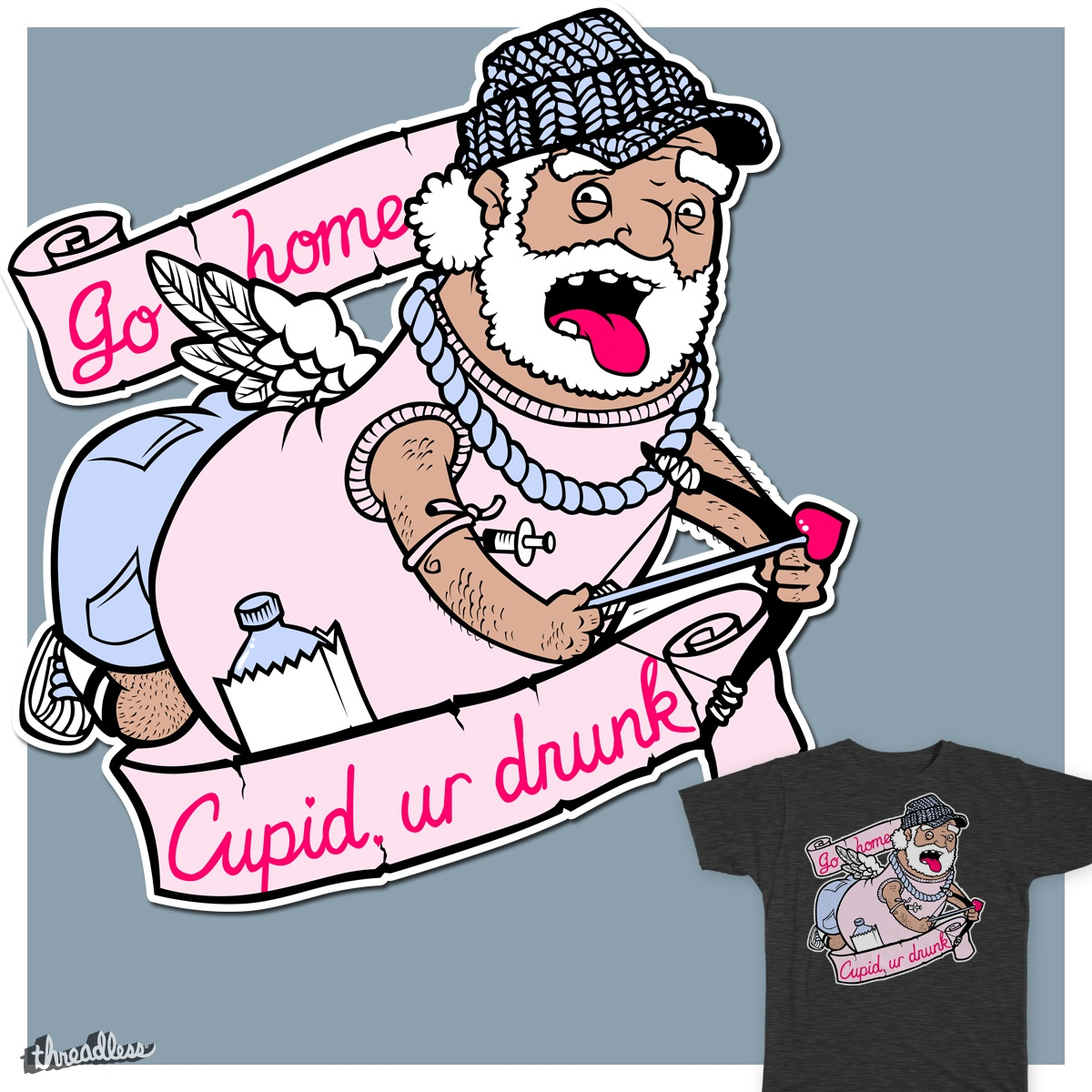 Cupid clipart drunk Go Crushem Cupid drunk home