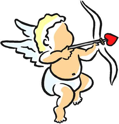 Cupid clipart easy Cupid heart  love Clipart