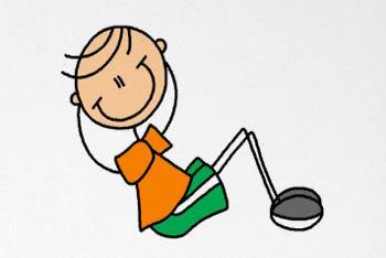 Curl clipart cartoon Ups clipart ups Curl clipart
