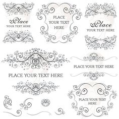 Curl clipart classic Co by Curls Digital $6