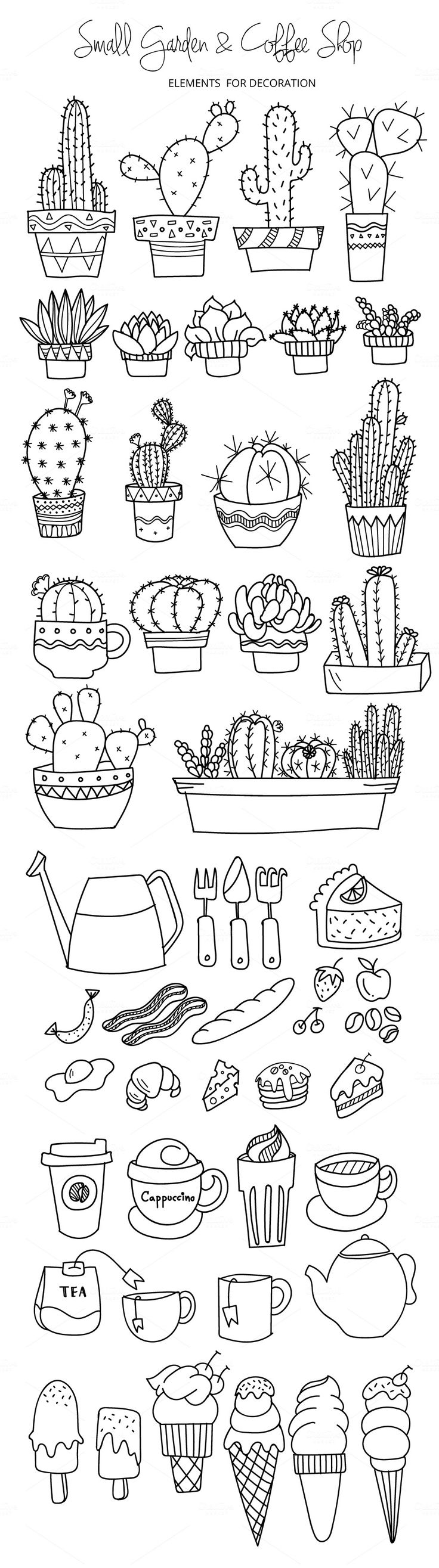 Curl clipart doodle Design (affiliate SO Clip This