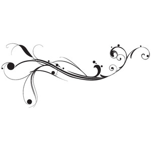 Curl clipart swirl accent 1 Onetuts Wallpaper Tutorial and