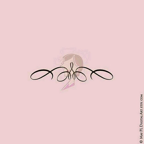 Curl clipart twirl Comes design as elegance Simple