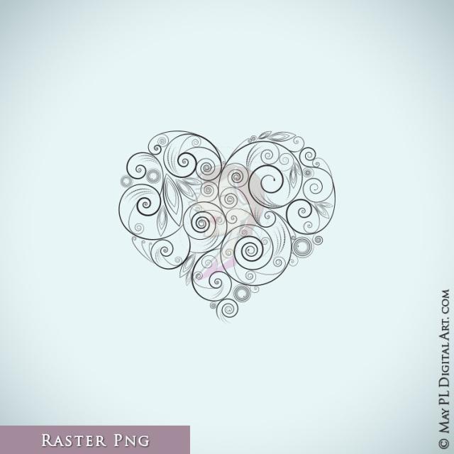 Curl clipart twirl Twirl Heart Spiral Swirls Art