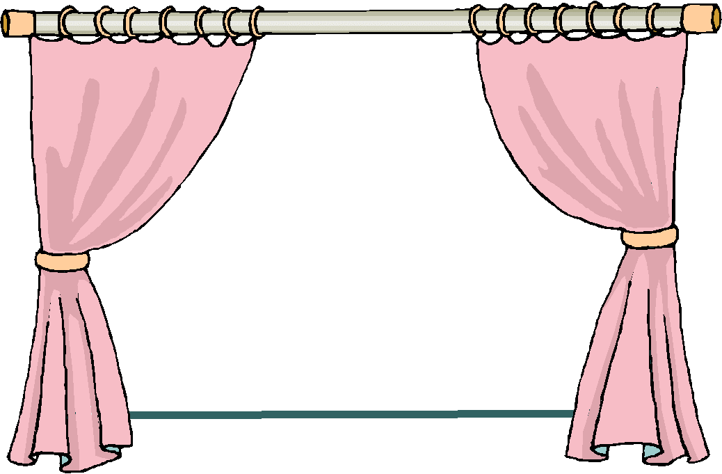 Curtain clipart animated On  Window Clip clipart