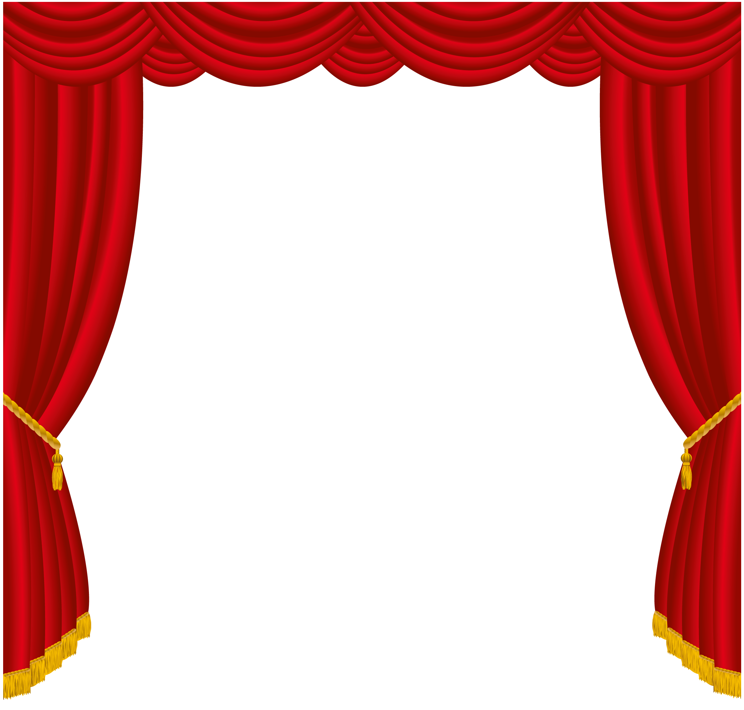 Curtain clipart stage screen  Art Curtain Free Free