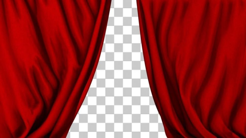 Curtain clipart animated Curtain Animation  Stage