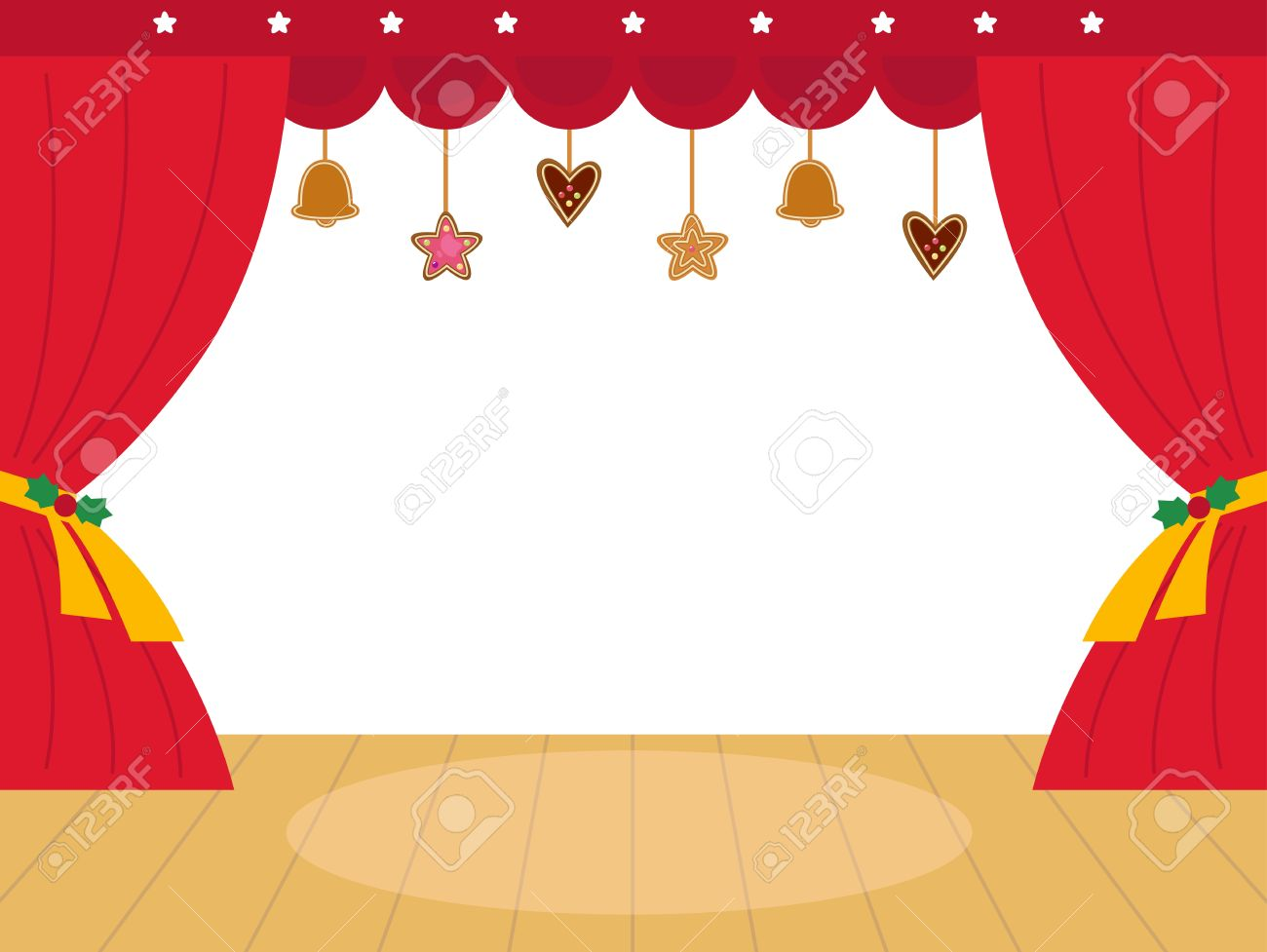Curtain clipart coloring Christmas Google theatre Christmas Search