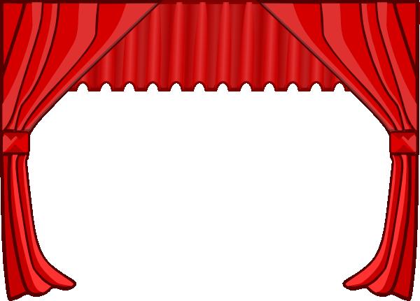Curtain clipart curtain call Com at  this Art