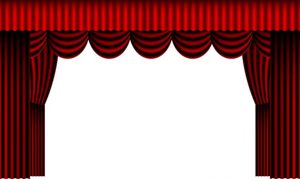Curtain clipart curtain raiser Png Stage Unique Curtain Open