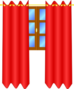 Curtain clipart drape – Curtains Drapes Curtains and