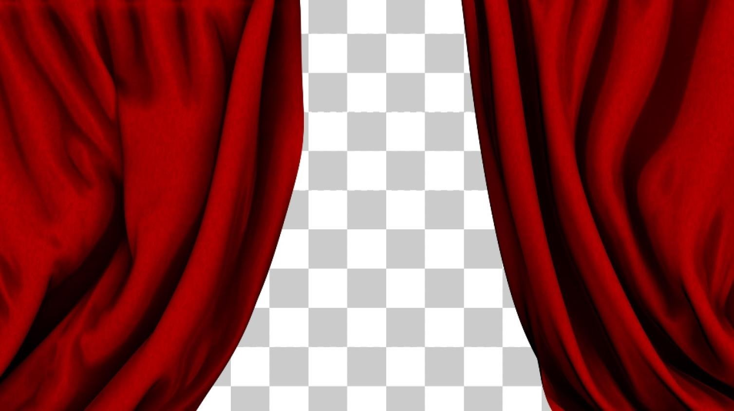 Curtain clipart home theater Web Movie Web of Curtains