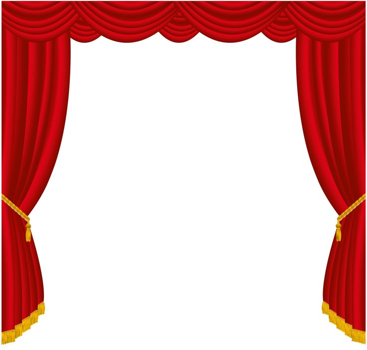 Curtain clipart playwright Red Transparent on Sofa PNG