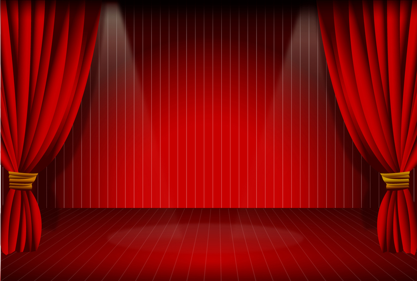 Curtain clipart real stage Stage free image clipart curtain
