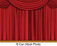 Curtain clipart red curtain Clip art Curtain Curtain art