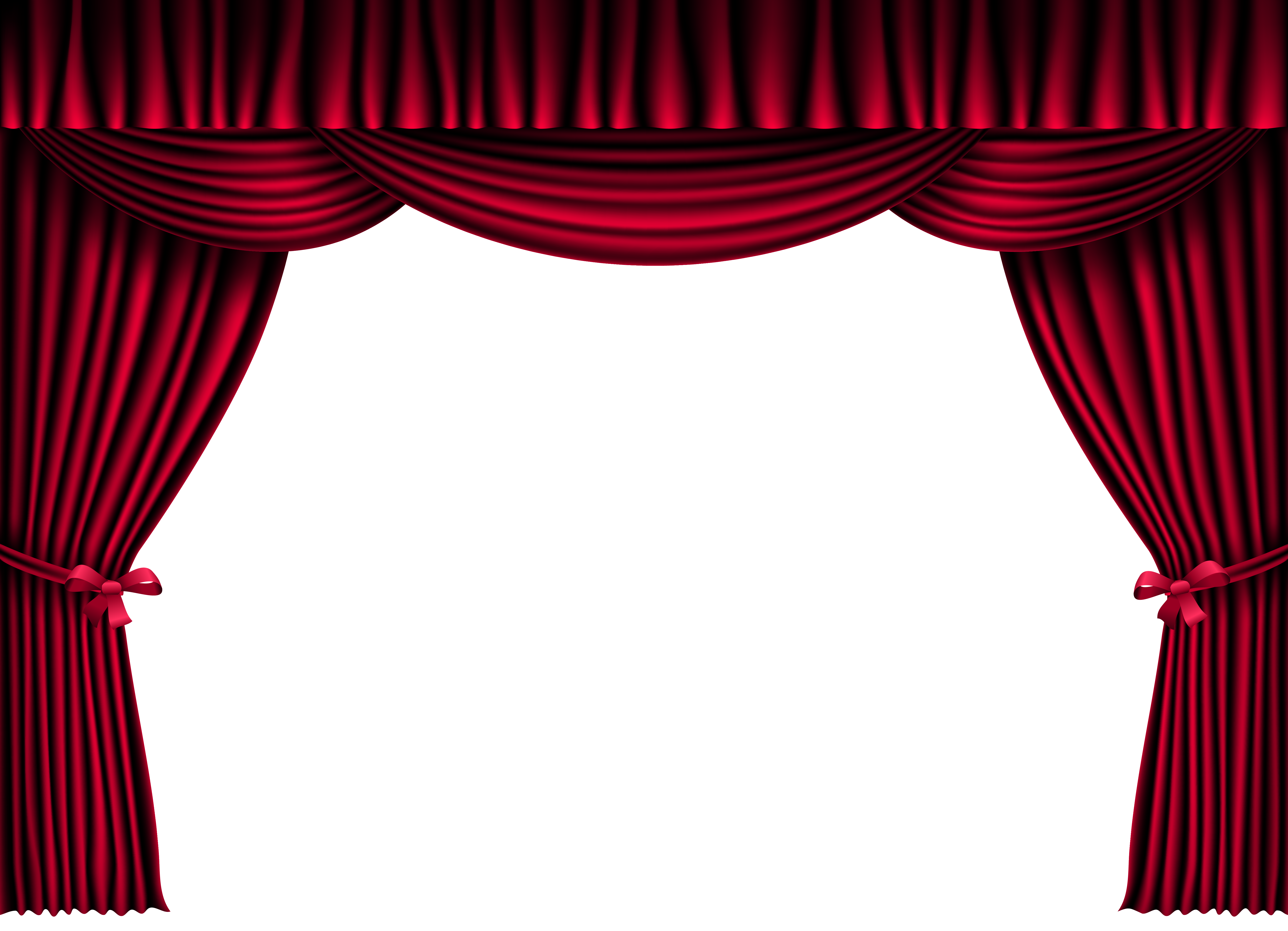 Curtain clipart red curtain And PNG Clipart Tags: