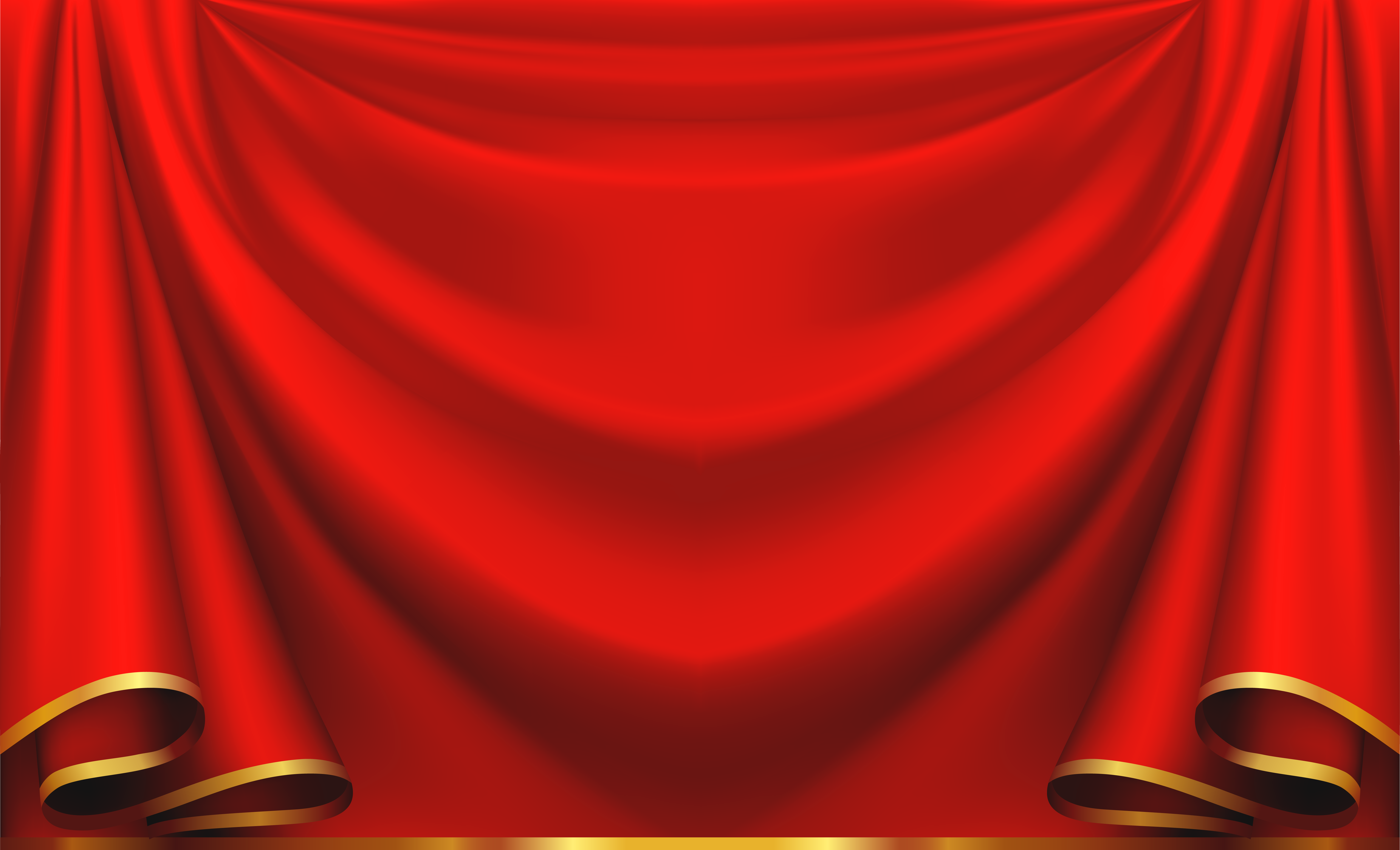 Curtain clipart red curtain  size Clipart View High