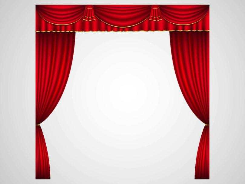 Curtain clipart spotlight Spotlight of Full Download :