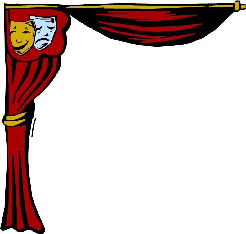 Curtain clipart talent show Show Presbyterian Show Church Curtain