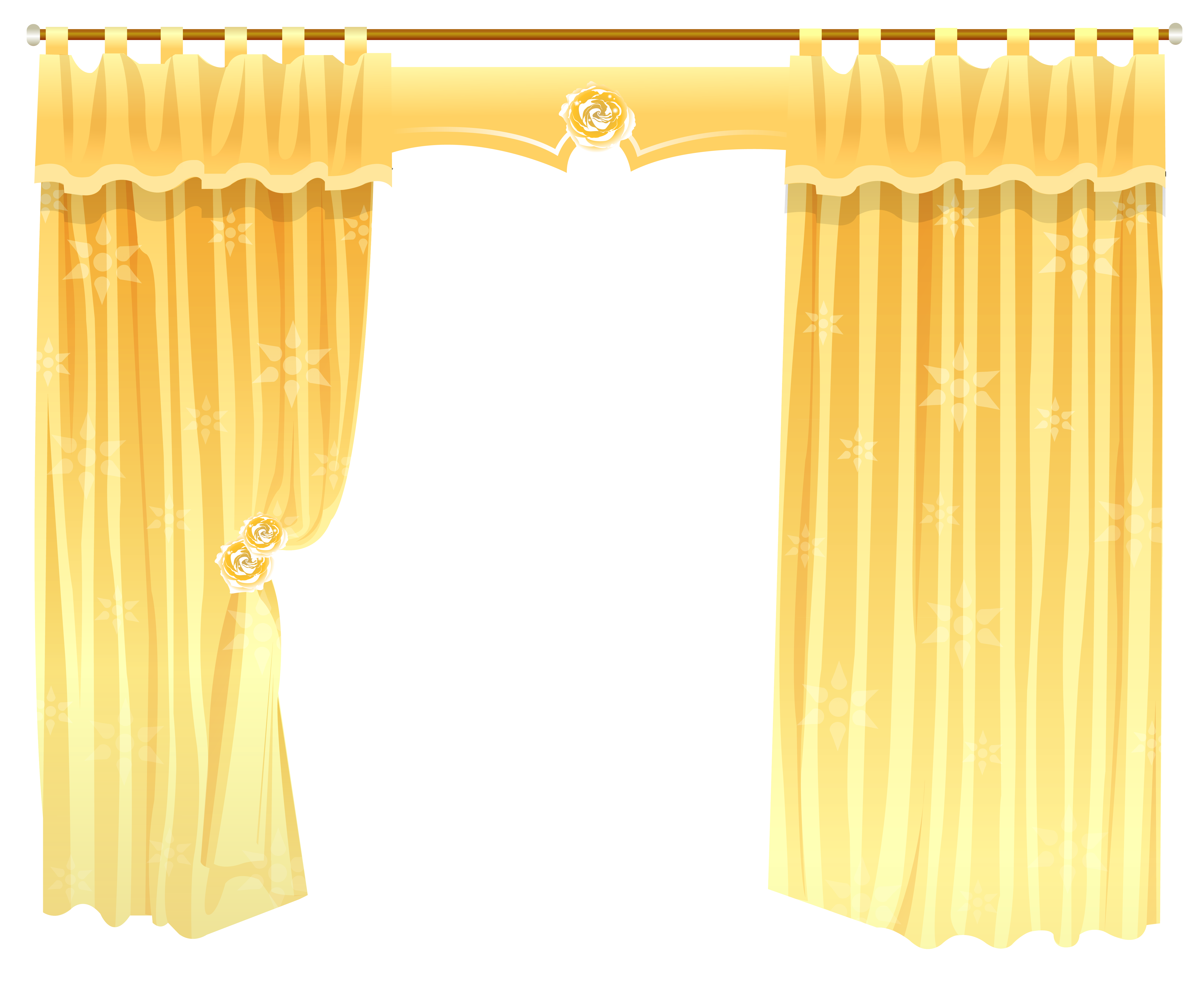 Curtain clipart transparent Gallery Transparent Yopriceville PNG Clipart