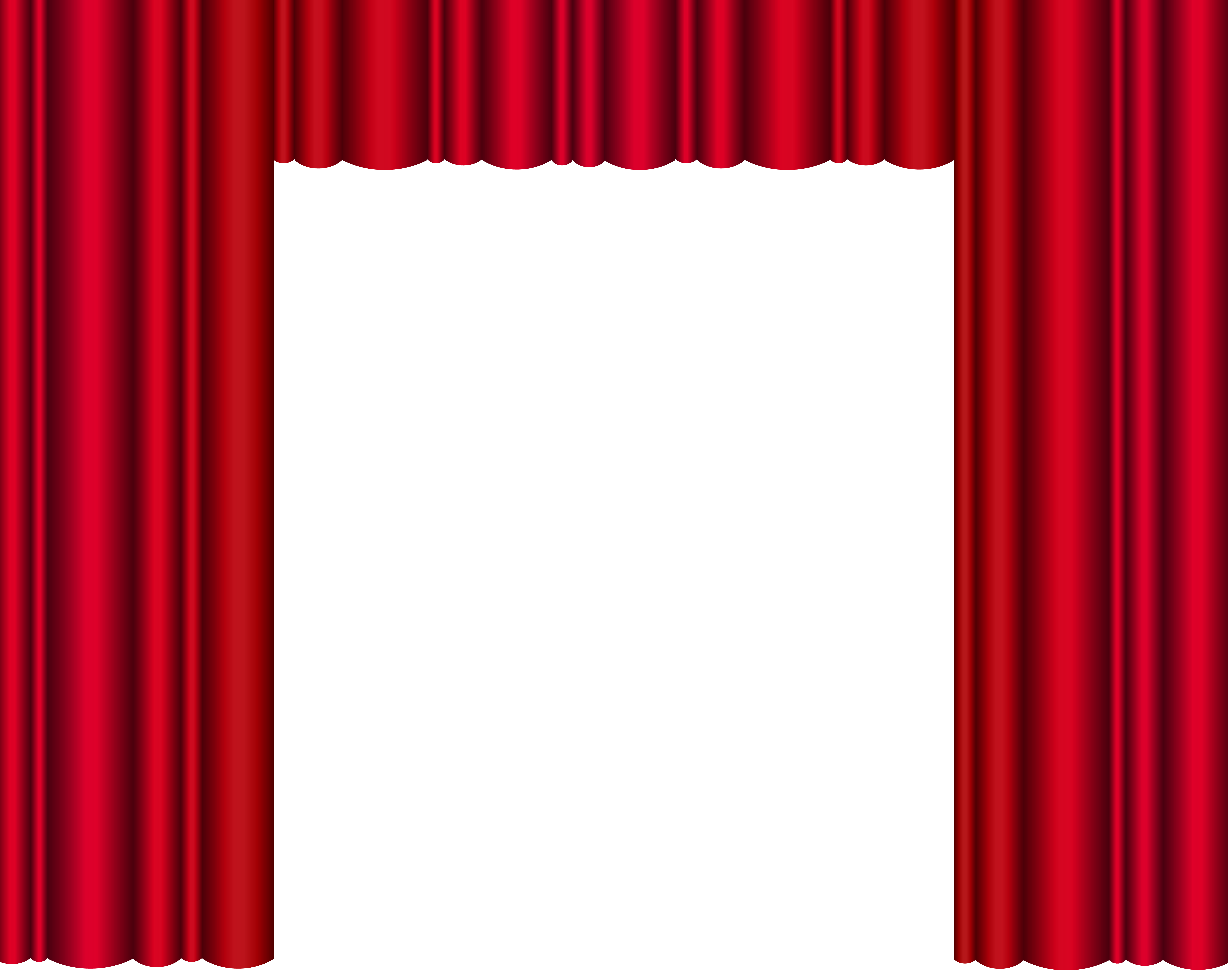 Curtain clipart transparent Clip Curtains Art Transparent High