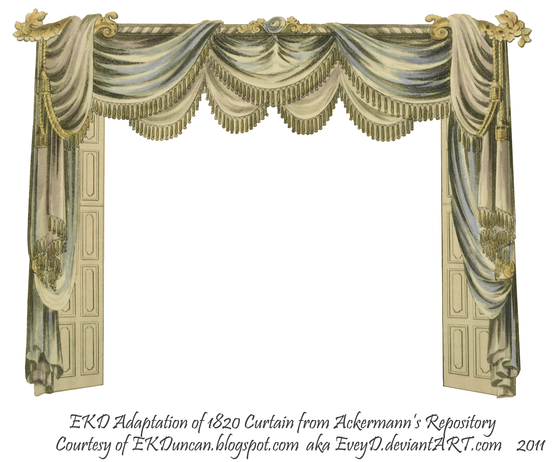 Curtain clipart victorian clipart window Explore png Colored  curtain