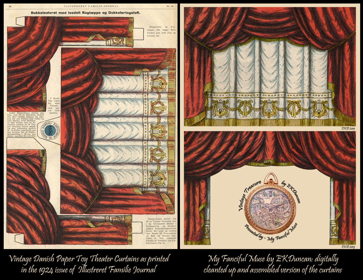 Curtain clipart victorian theatre 1924 Journal from Muse: paper