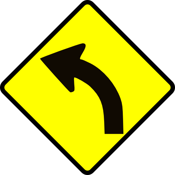 Drawn roadway vector As: Road  this Clip