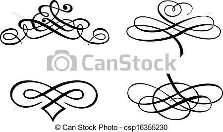 Curve clipart baroque  Illustration of Curves Baroque