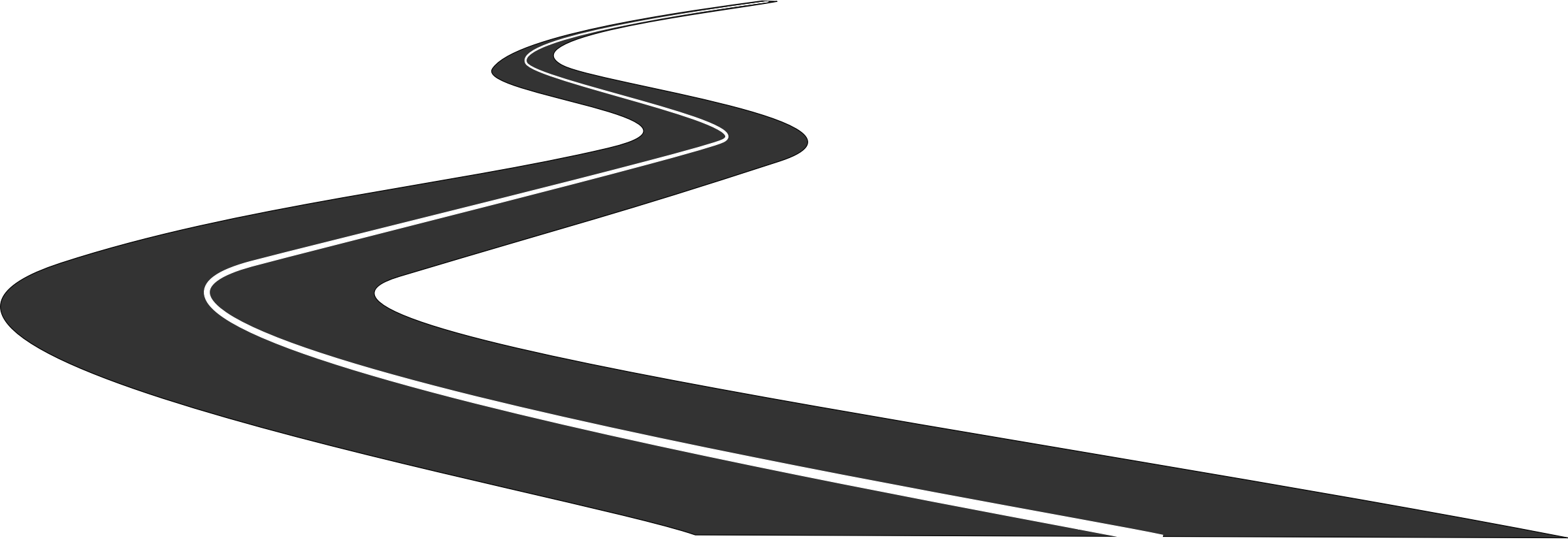 Drawn roadway doodle Straight Art Clipart Download Free