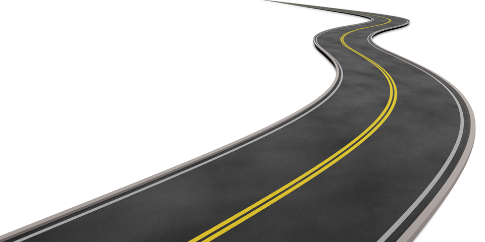 Curve clipart curved road Curved Curved Space Curved road